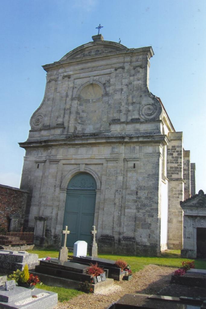 Oise. Une église singulière